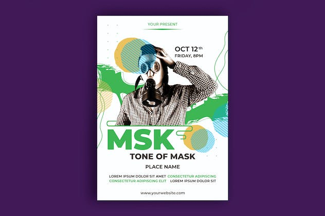 Mask Party Poster