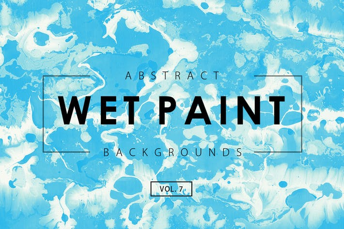 Thumbnail for Wet Paint Backgrounds Vol. 7