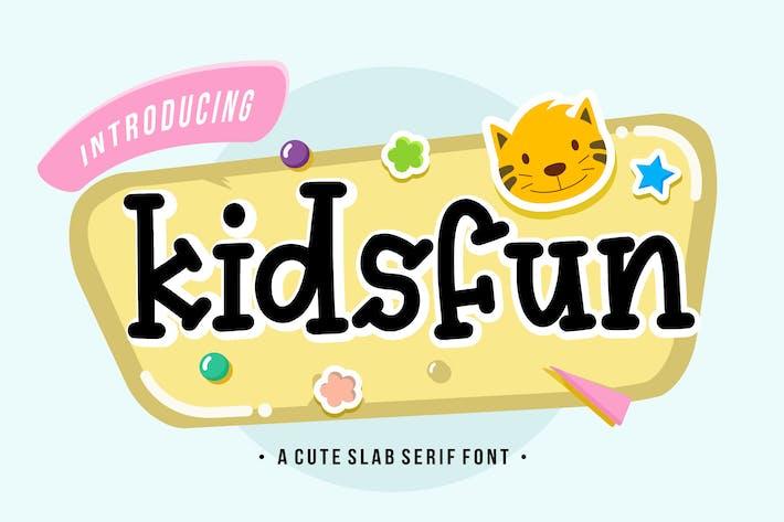 Thumbnail for Kidsfun YH - Fuente de pantalla de losa