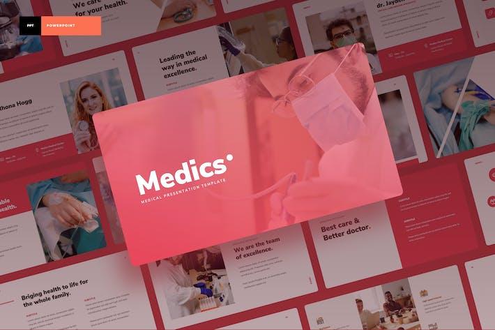 Thumbnail for Medics - Medical Power Point Presentation