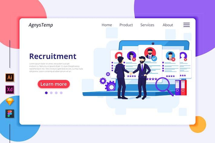 Thumbnail for Agnytemp - Recruitment Illustration v2