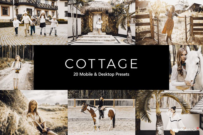 Thumbnail for 20 Cottage Lightroom Presets & LUTs
