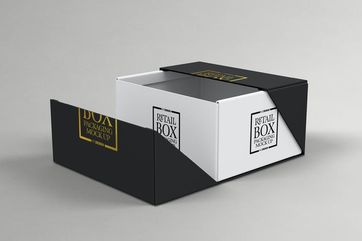 Thumbnail for VOLUME 03: Retail Box Packaging Mockups