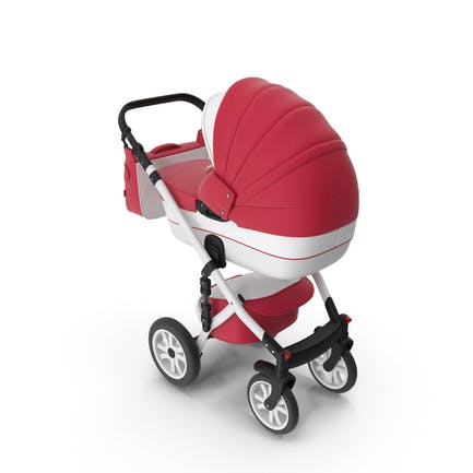 Kinderwagen Rot