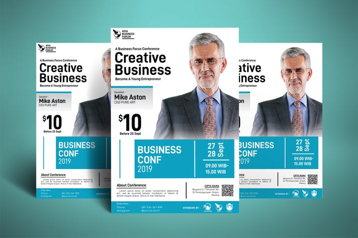 Thumbnail for Creative Business Coaching Poster