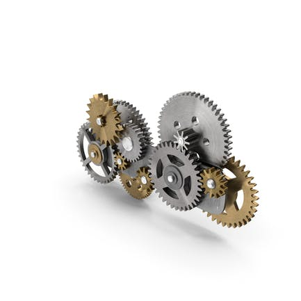 Gear Mechanism Mixed