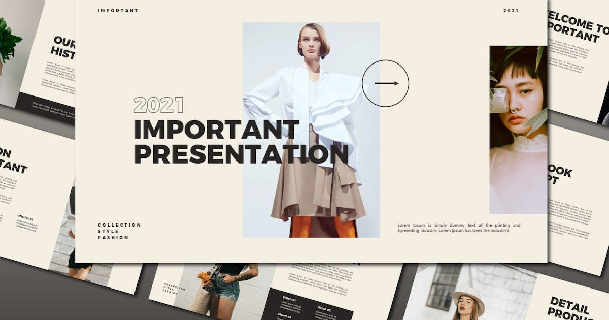 Download Important Powerpoint Template by axelartstudio