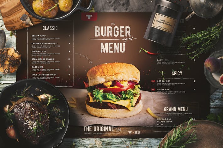 Thumbnail for Menu Burger