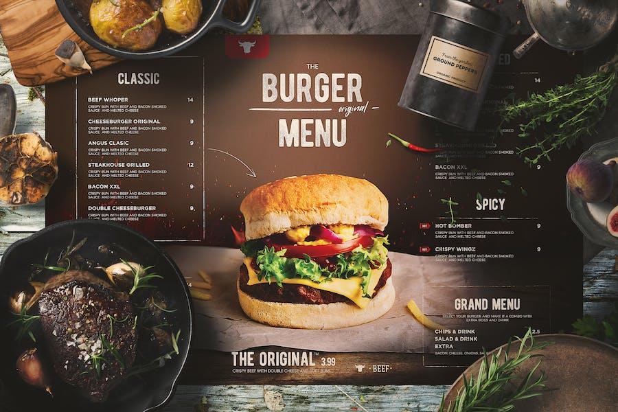 Burger Menu - product preview 0