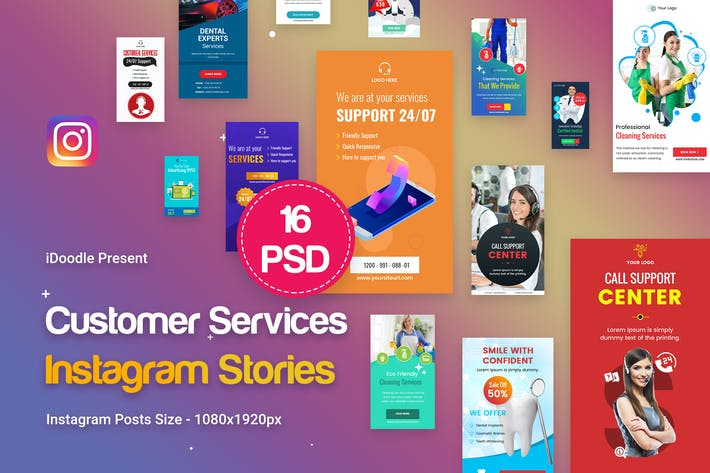 Thumbnail for Multipurpose Customer Services Stories