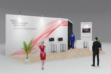 Trade Show Booth / Displays Mock-Ups Vol.3