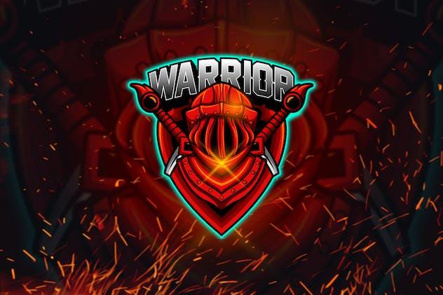 Warrior - Esports Mascot Logo