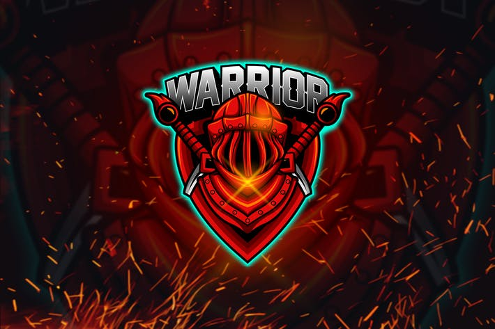 Thumbnail for Warrior - Esports Mascot Logo