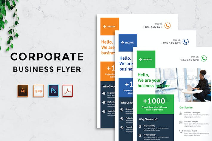 Thumbnail for Corporate Business Flyer v13 - [code YP]