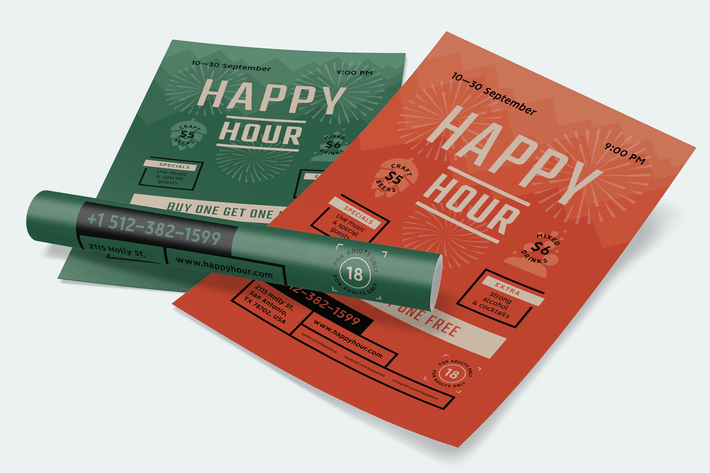 Thumbnail for Happy Hour Poster #3