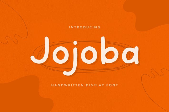 Jojoba - Handwritten Display Font