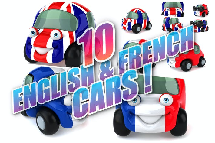 Thumbnail for 10 English & French Cars !