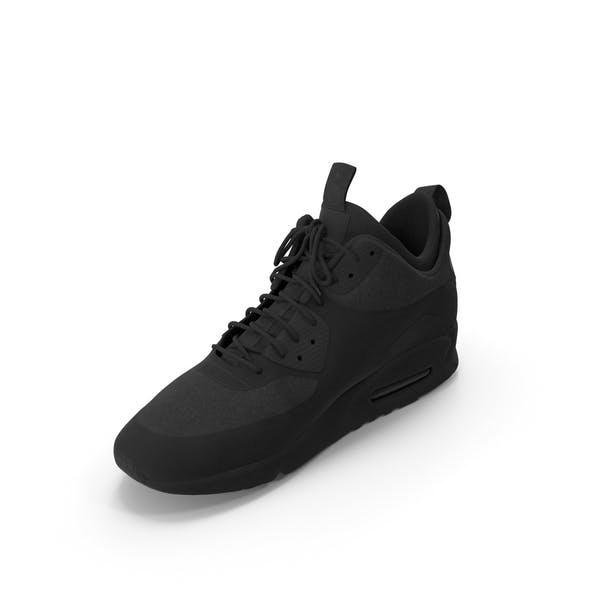 Men's Sneakers  Black