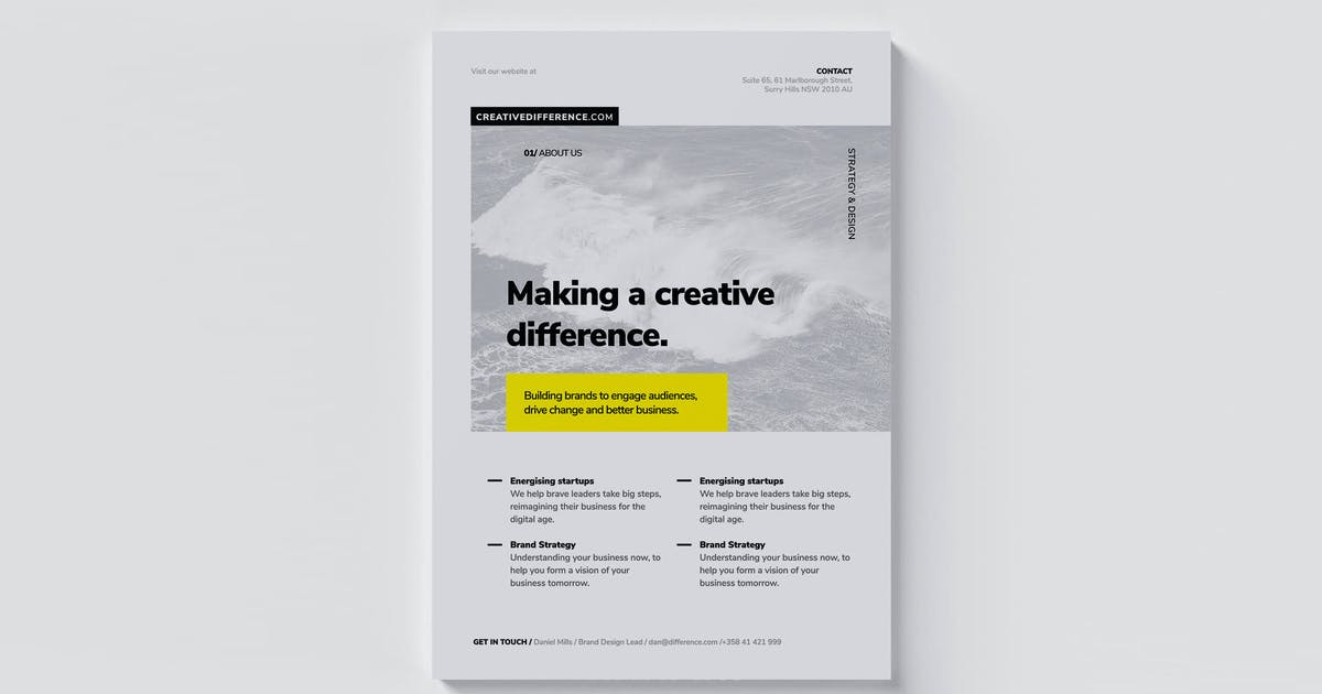 Download Corporate Flyer / Brochure by Unknow