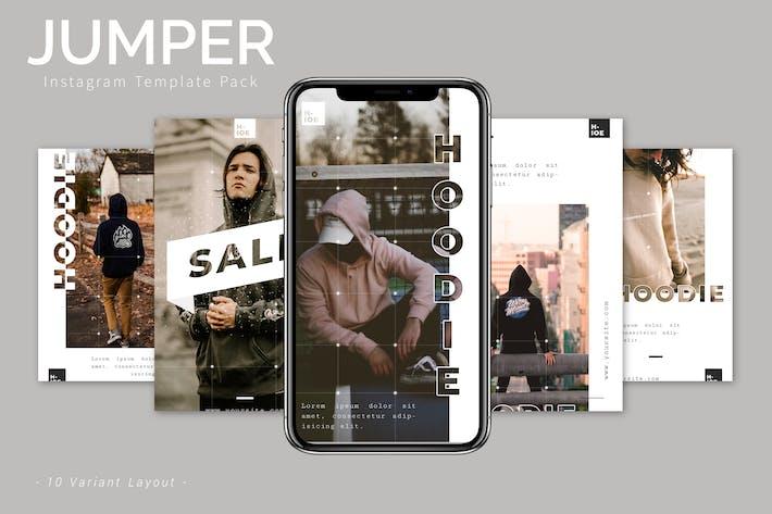 Thumbnail for Jumper - Instagram Template Pack