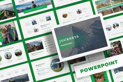 Journeys - Powerpoint Template