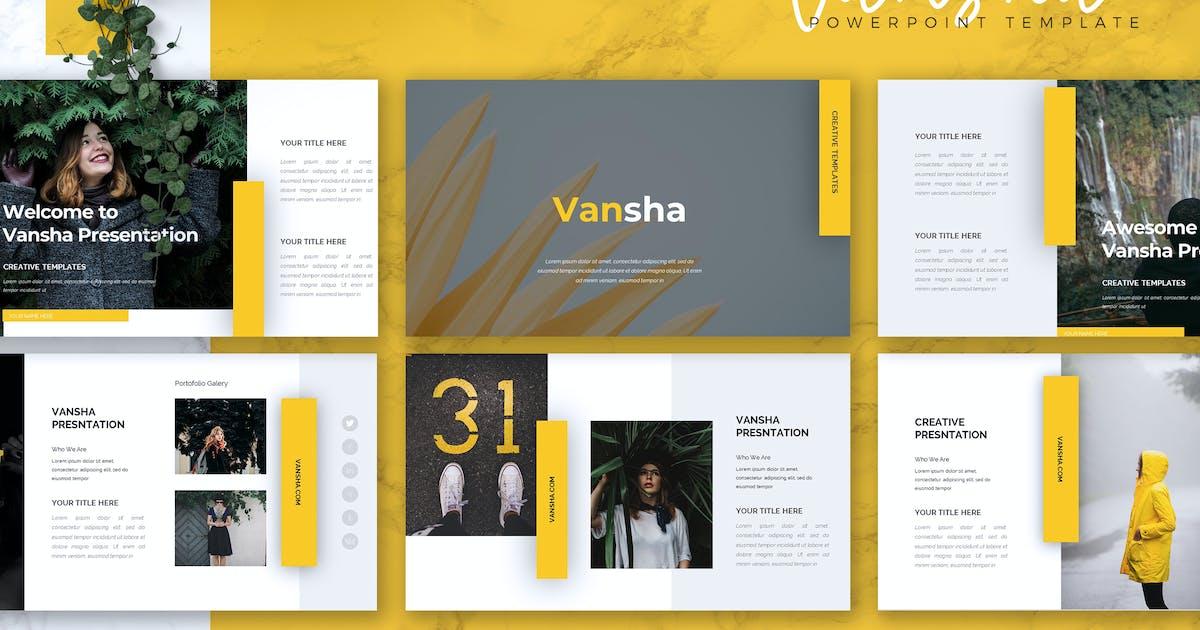Download VANSHA - Business Powerpoint Template by RahardiCreative