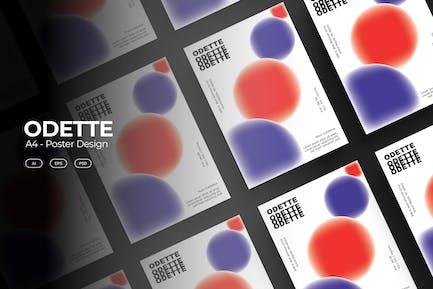 ODETTE Poster Design