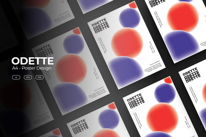 Thumbnail for ODETTE Poster Design
