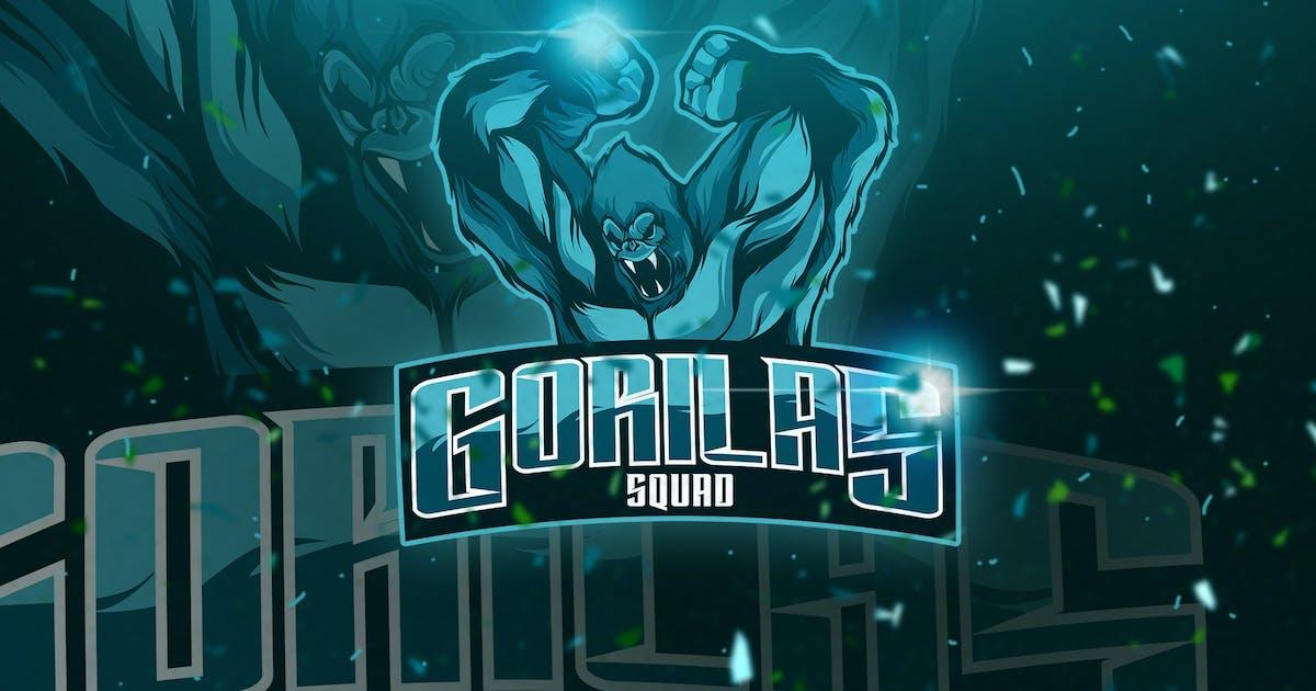 Download Gorilas - Mascot & Esport Logo by aqrstudio