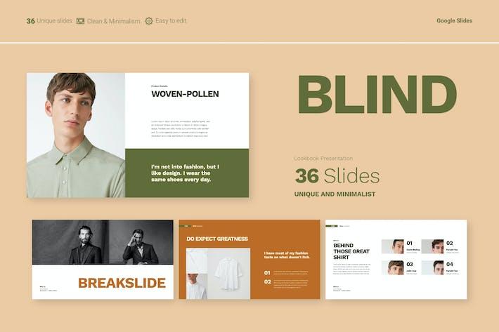 Thumbnail for Blind - Google Slides