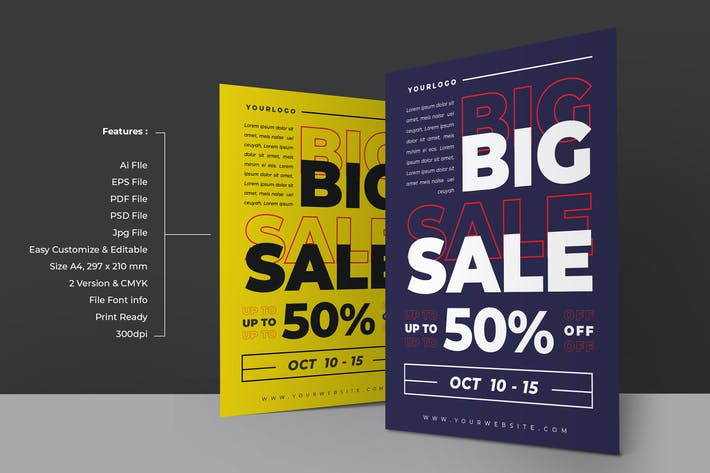 Thumbnail for Big Sale Flyer