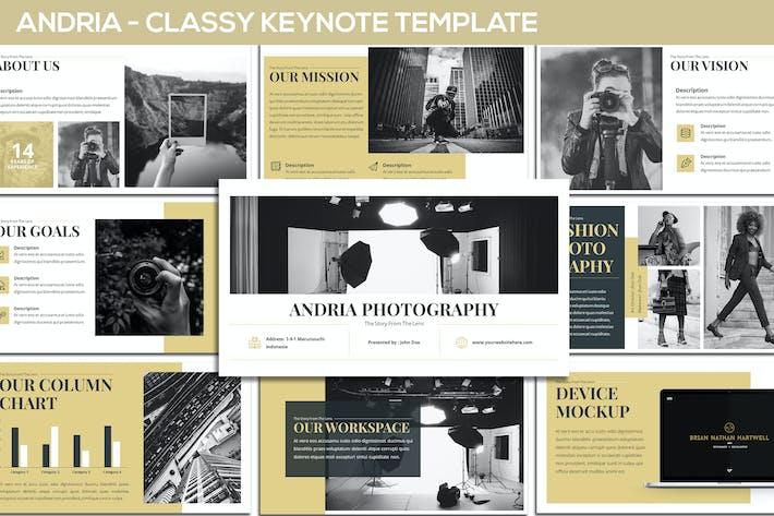 Andria - Classy Keynote Template