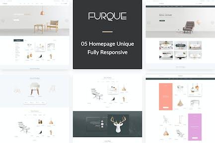 FURQUE - Creative Multiconcept Furniture Store PSD
