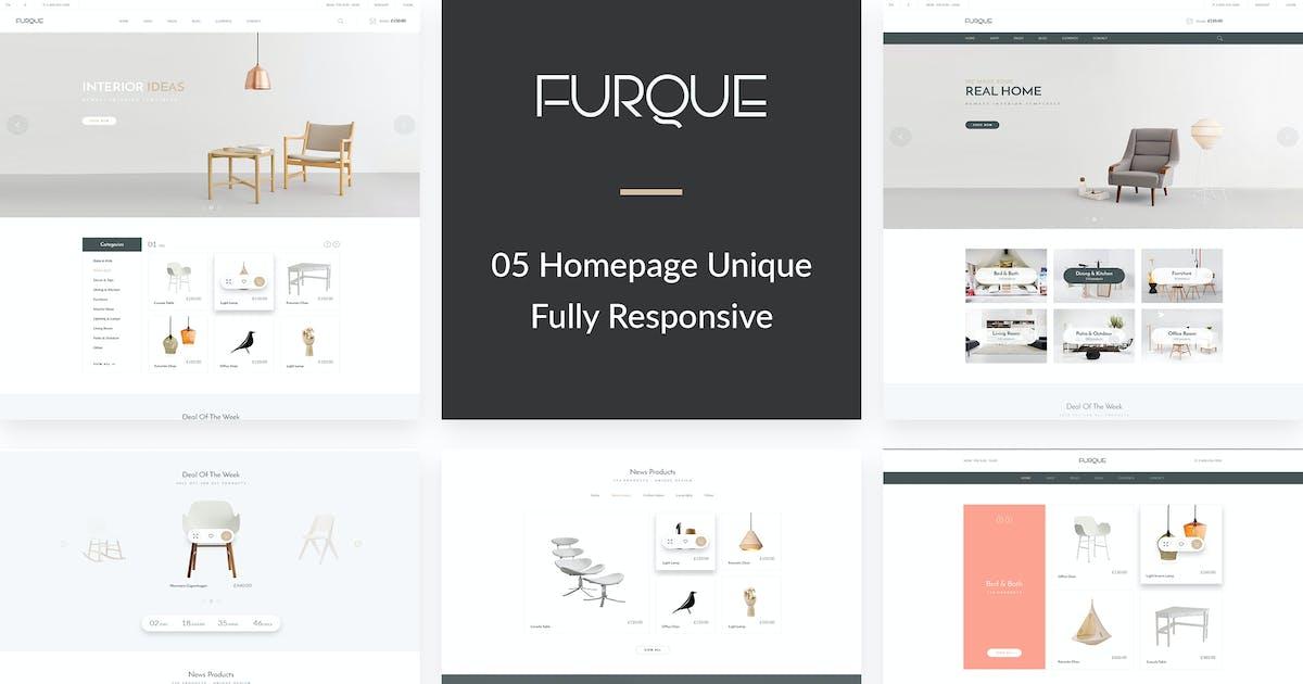 FURQUE - Creative Multiconcept Furniture Store PSD by Leonard_Design