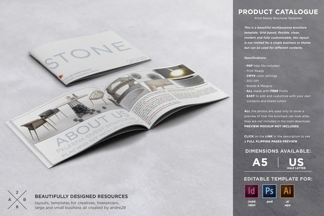 Product Catalogue Template - product preview 7