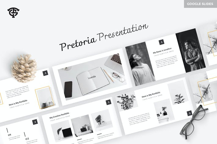 Thumbnail for Pretoria Creative - Google Slides