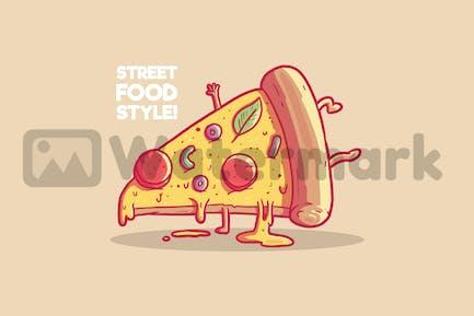 Pizza Slice Style