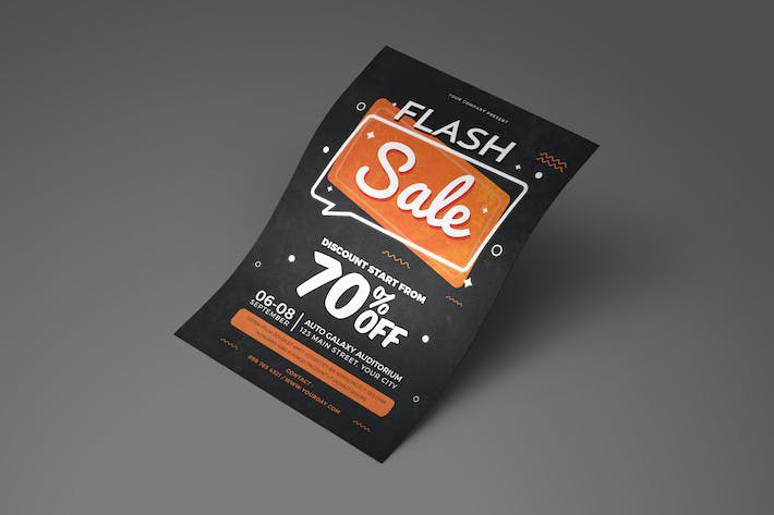 Thumbnail for Flash Sale Flyer