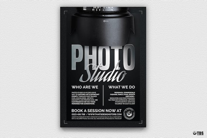 Thumbnail for Photo Studio Flyer Template V2