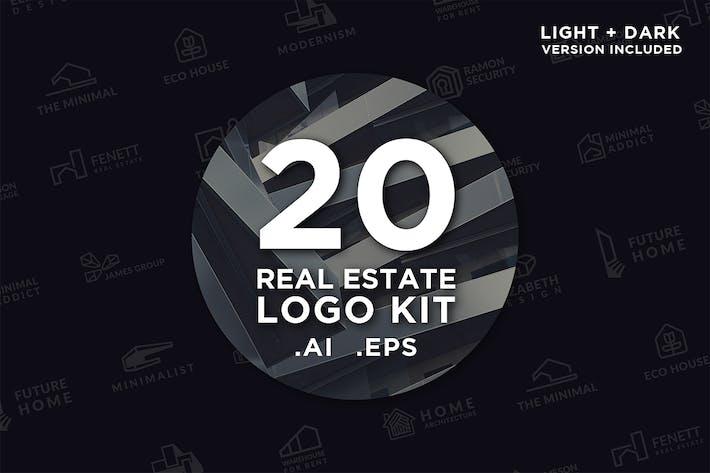 Cover Image For 20 Real Estate Logo Kit