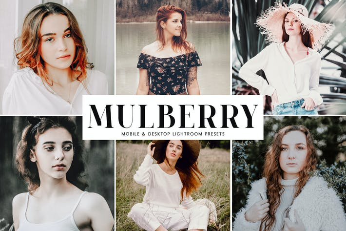 Thumbnail for Mulberry Mobile & Desktop Lightroom Presets