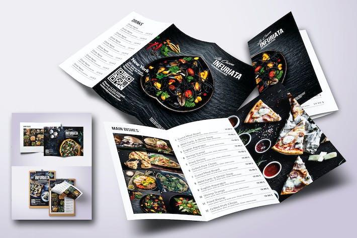 Thumbnail for Minimal Modern Food Menu Bundle