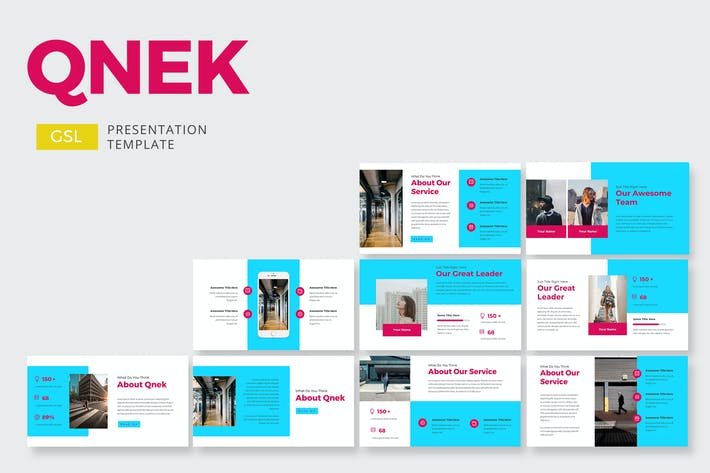Thumbnail for Qnek Business - Google Slides