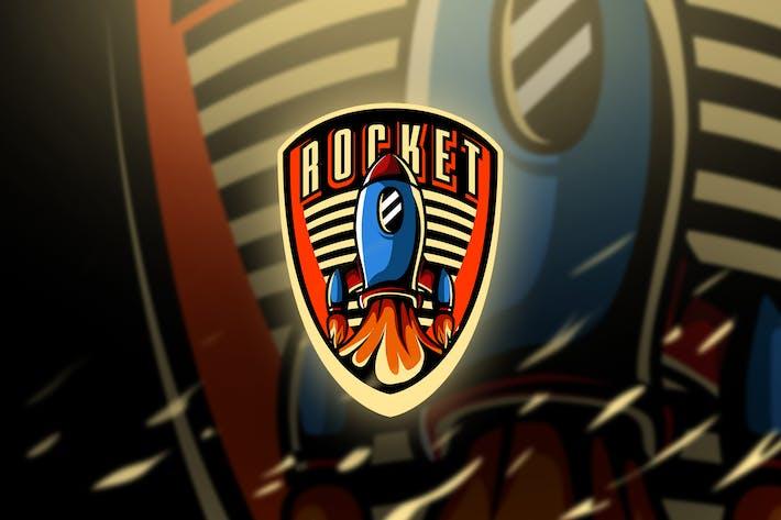 Thumbnail for rocket - Mascot & Esport Logo