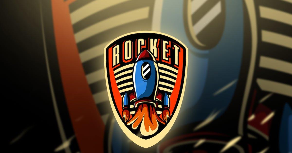 Download rocket - Mascot & Esport Logo by aqrstudio