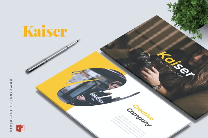 Thumbnail for KAISER - Company Profile Powerpoint Template