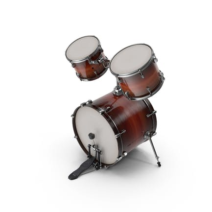 Bass Drum with Top Toms
