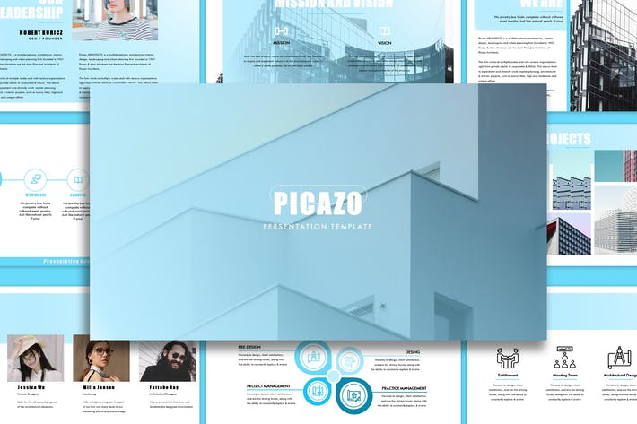 Thumbnail for Picazo - Architecture Keynote Template