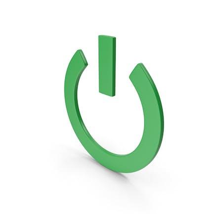 Power Icon Green