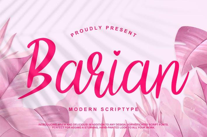 Thumbnail for Barian Modern Scriptype